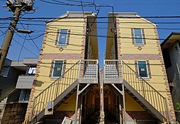 神奈川県川崎市川崎区桜本1丁目の賃貸アパートの外観