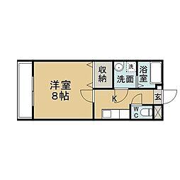 SAKURA6[3階]の間取り