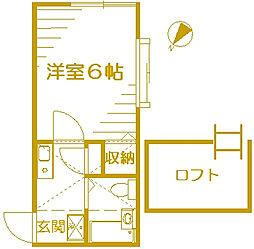 ハイム21[2階]の間取り