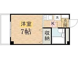 植村ビル[2階]の間取り