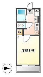 シェトワ御器所[1階]の間取り