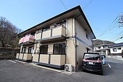 広島県広島市安佐南区上安7丁目の賃貸アパートの外観