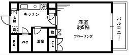 ソナーレ立川II[303号室]の間取り