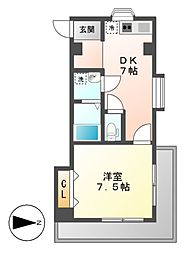 K2スクエア[4階]の間取り