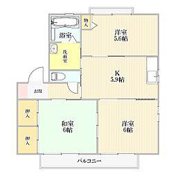 シャーメゾン スーベニール I棟[1階]の間取り