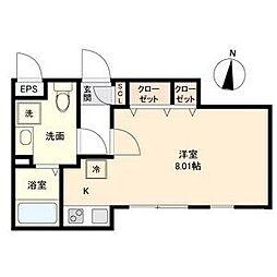 Branche 桜山 Chambre[4階]の間取り
