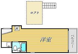シャンテ押上III[1階]の間取り