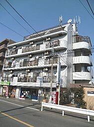 東京都世田谷区千歳台3丁目の賃貸マンションの外観