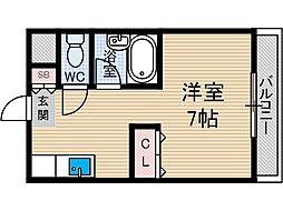 第35マンション[3階]の間取り