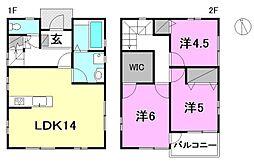 [一戸建] 愛媛県松山市枝松2丁目 の賃貸【/】の間取り