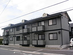 長野県松本市筑摩3丁目の賃貸アパートの外観