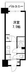 ディームス江坂[1112号室]の間取り