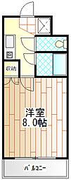 神奈川県相模原市南区相模大野9の賃貸マンションの間取り