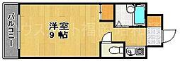パンルネックスクリスタル大濠II[2階]の間取り