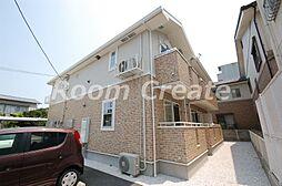 徳島県徳島市中前川町4の賃貸アパートの外観