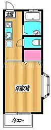 東京都三鷹市牟礼4丁目の賃貸マンションの間取り