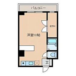 ロフトマンション本城東[3階]の間取り