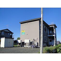 北海道北見市緑ケ丘5丁目の賃貸アパートの外観