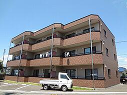 長野県松本市鎌田1丁目の賃貸マンションの外観