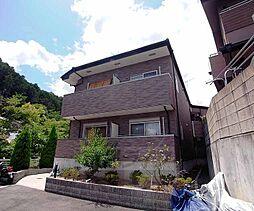 京都府京都市右京区鳴滝松本町の賃貸マンションの外観