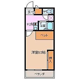 HouseUmi[2階]の間取り