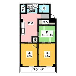 栄町ビル[4階]の間取り