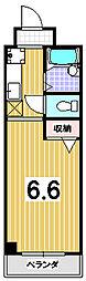 モラード藤井[102号室]の間取り