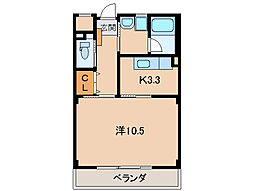 N・シャルム[2階]の間取り