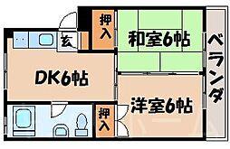 広島県安芸郡坂町横浜東1丁目の賃貸マンションの間取り