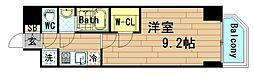 プレサンス江戸堀[8階]の間取り