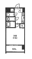 vivi恵美須[2階]の間取り