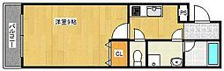 コアレジデンス[2階]の間取り