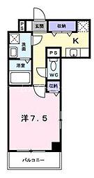 フォルシュライツ[4階]の間取り