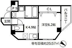 メゾンドアヴェルIII[3階]の間取り