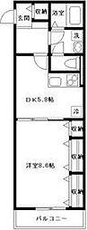 ボナール桜[305号室号室]の間取り