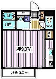 埼玉県さいたま市南区曲本2丁目の賃貸アパートの間取り