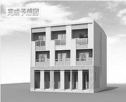石川3丁目アパート[1階]の外観