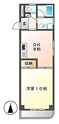 KATOHマンション[2階]の間取り