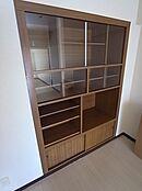 壁内収納は仕切りが多く収納に便利