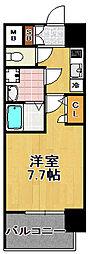 プレミアムコート大正フロント[2階]の間取り
