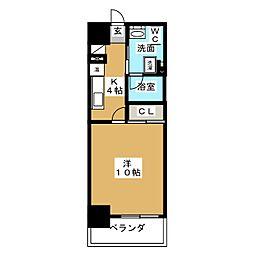OIKOS[3階]の間取り