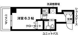 Nasic梶ヶ谷[202号室号室]の間取り