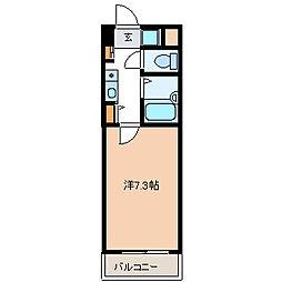 第8白子ビル[4階]の間取り