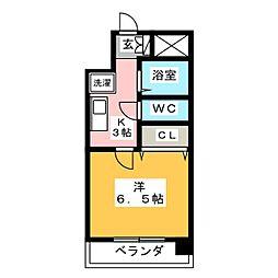 アーバン遊大橋[8階]の間取り