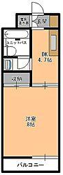 レジデンスFURUSAKI[3階]の間取り