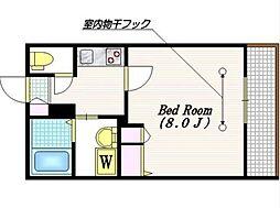 LAMBS HILL 103[103号室]の間取り