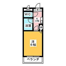 ソネット8番[4階]の間取り