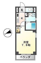 クレサス千種Ⅱ.m[2階]の間取り