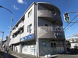 大阪府高槻市真上町2丁目の賃貸マンションの外観