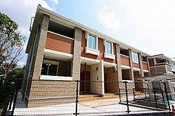 福岡県飯塚市弁分の賃貸アパートの外観